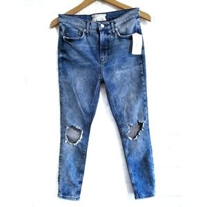 Free People | Busted Knee Jeans | 28S
